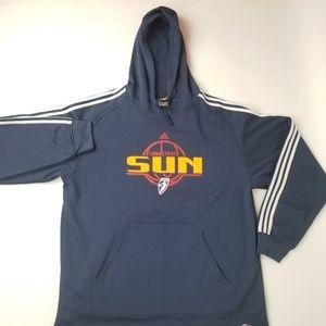 Adidas WNBA Connecticut suns hoodie climawarm